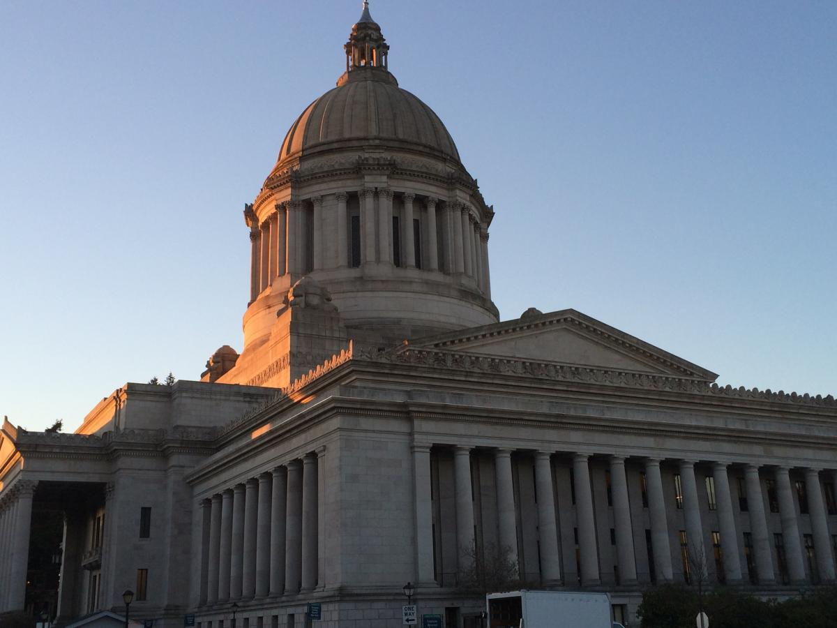 State capitol building in Olympia